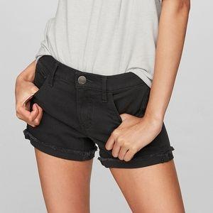 Express dark grey shorts size 0